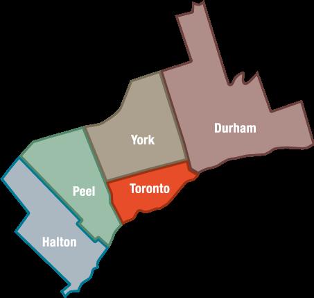 Greater Toronto Area Gta Ureach Toronto