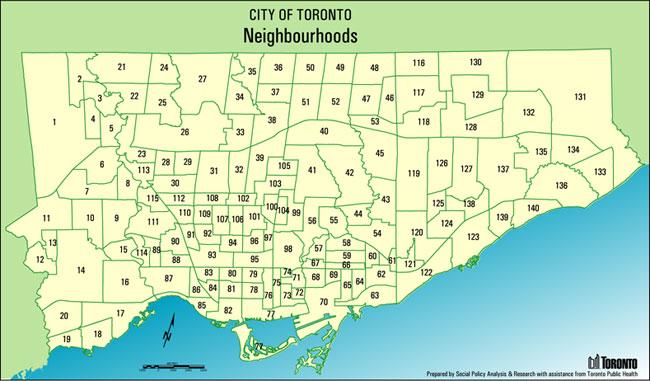 Neighbourhood Mapping Ureach Toronto